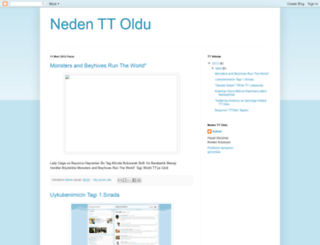 ttnedenoldu.blogspot.com.tr screenshot