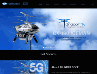 ttrobotix.com screenshot