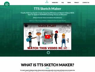ttssketchmaker.com screenshot