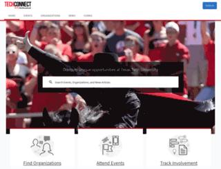 ttu.orgsync.com screenshot