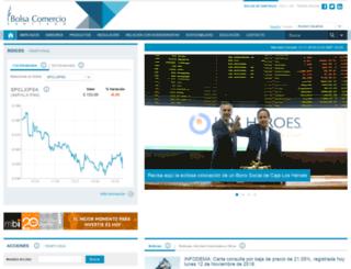 ttwww.bolsadesantiago.com screenshot