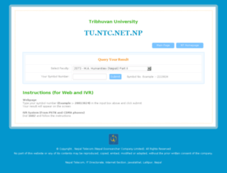 tu.ntc.net.np screenshot