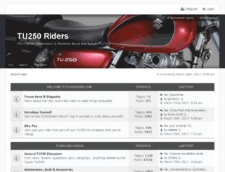 tu250riders.com screenshot