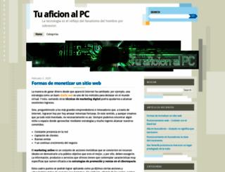 tuaficionalpc.wordpress.com screenshot
