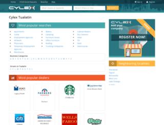 tualatin.cylex-usa.com screenshot