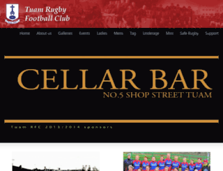 tuamrfc.com screenshot