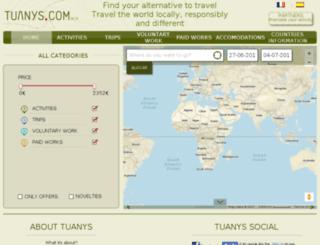 tuanys.com screenshot