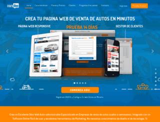 tuautomotor.com screenshot