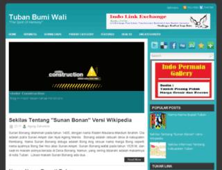 tubanbumiwali.blogspot.com screenshot