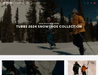 tubbssnowshoes.com screenshot