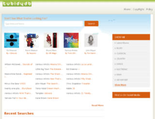 tubidydb.unblockset.com screenshot