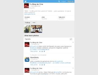 tublogdecine.es screenshot