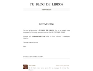 tublogdelibros.wordpress.com screenshot
