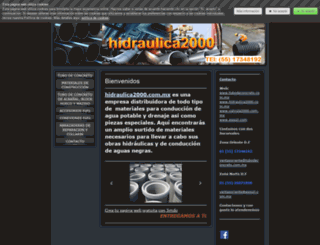 tubodeconcreto.jimdo.com screenshot