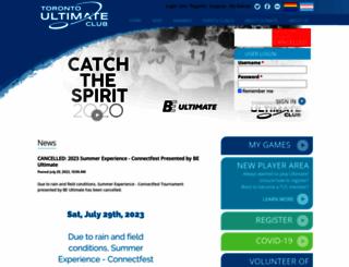 tuc.org screenshot