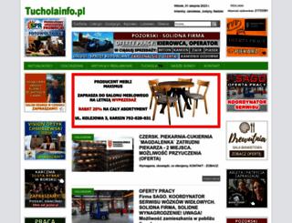 tucholainfo.pl screenshot