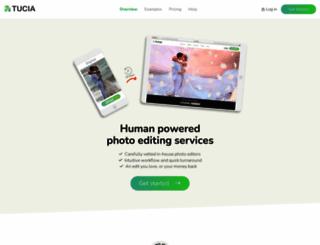 tucia.com screenshot