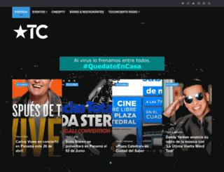 tuconcierto.net screenshot