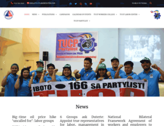 tucp.org.ph screenshot