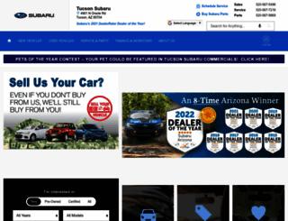 tucsonsubaru.com screenshot