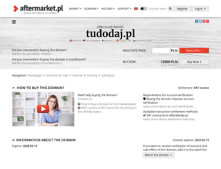 tudodaj.pl screenshot