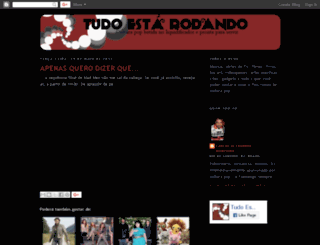 tudoestarodando.blogspot.com screenshot