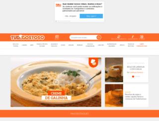 tudogostoso.uol.com.br screenshot