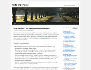 tudoimportante.wordpress.com screenshot