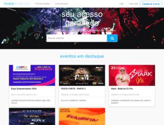 tudoingresso.com.br screenshot