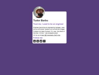 tudorbarbu.ninja screenshot
