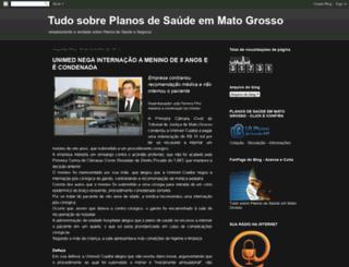 tudosobreplanosdesaudeemmatogrosso.blogspot.com.br screenshot