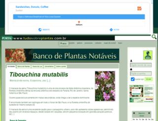 tudosobreplantas.com.br screenshot