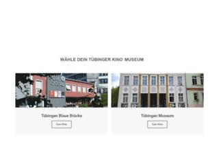 tuebinger-kinos.de screenshot