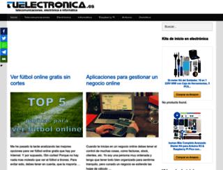 tuelectronica.es screenshot