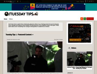 tuesday-tips.runnerspace.com screenshot