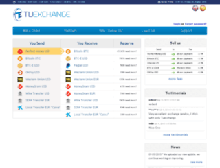 tuexchange.com screenshot