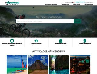 tuexperiencia.com screenshot