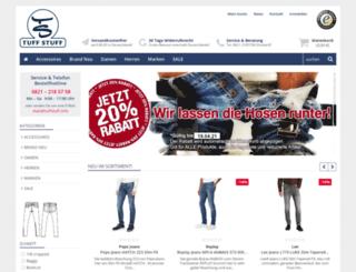 tuff-jeans.com screenshot