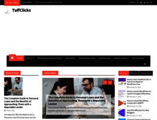 tuffclicks.com screenshot