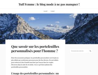 tufffemme.com screenshot