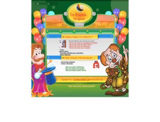 tufiestaoriginal.com screenshot