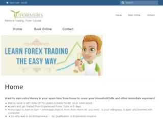 tuformers.com screenshot