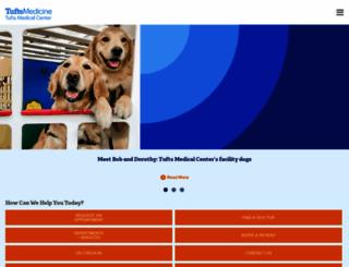 tuftsmedicalcenter.org screenshot