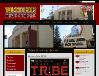 tuhs.tjuhsd.org screenshot