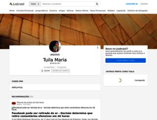 tuilamaria.jusbrasil.com.br screenshot