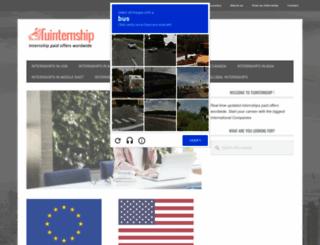 tuinternship.com screenshot