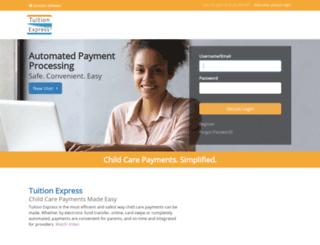 tuitionexpress.com screenshot