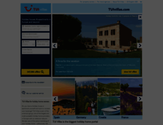 tuivillas.com screenshot
