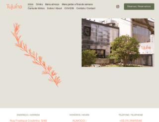 tuju.com.br screenshot