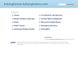 tukangtaman-tukangkolam.com screenshot
